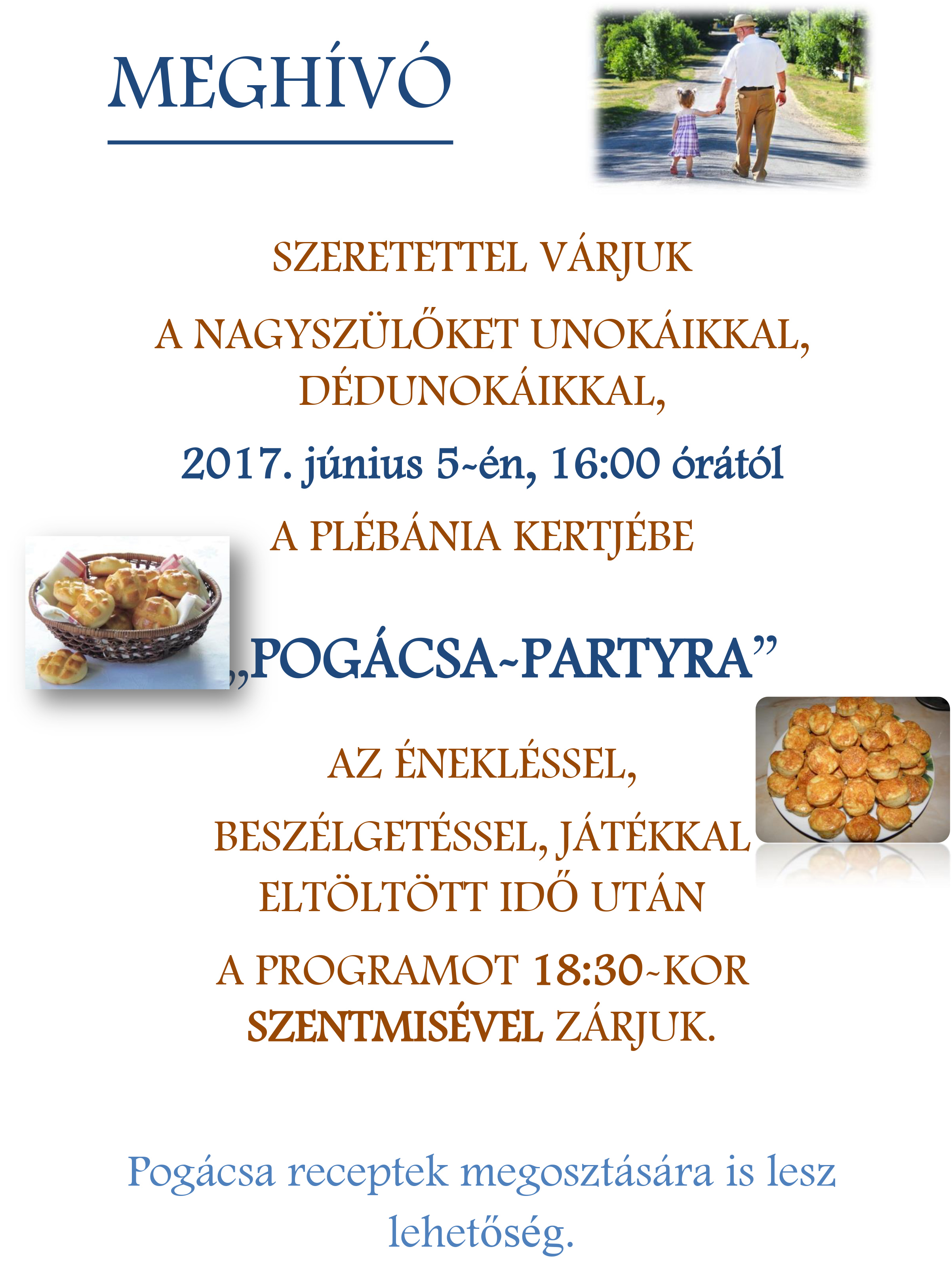 Pogácsa party
